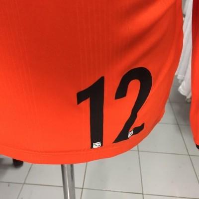 Matchworn EH Aalborg Handball Goalkeeper Shirt (S) #12 Hummel Denmark