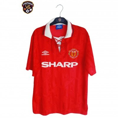 "Manchester United Home Shirt 1992-1994 (M) ""Good"""