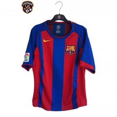 "FC Barcelona Home Shirt 2004-2005 (S) ""Very Good"""