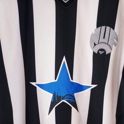 "Retro Newcastle United Home Shirt 1984 (M) ""Very Good"""