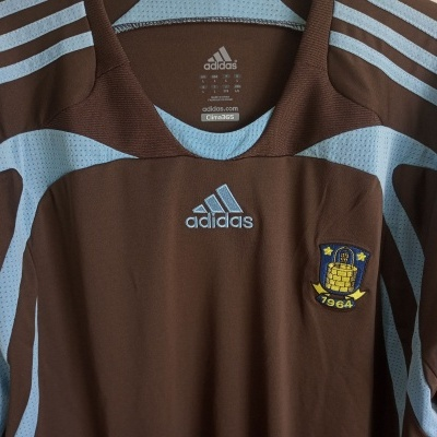 "Brondby Long Sleeve Away Shirt 2007-2008 (L) ""Perfect"""