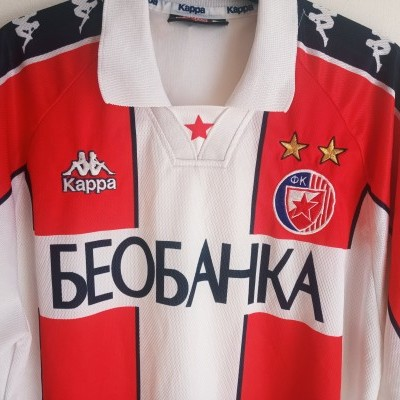 "Red Star Belgrade Home Shirt 1997-1998 (XL) ""Very Good"""