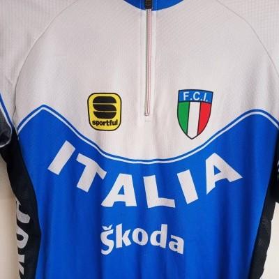"Italy Cycling Team Shirt Jersey (M) ""Good"""