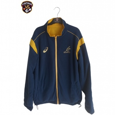 "Australia Wallabies Rugby Reversible Jacket (L) ""Very Good"""