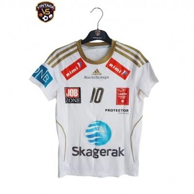 """Matchworn Larvik HK Handball Home Shirt #10 Hammerseng-Edin """"Good"""""""