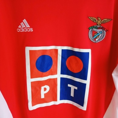 "SL Benfica Home Shirt 2005-2006 (M) ""Good"""