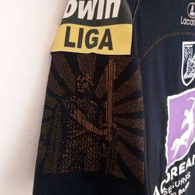 """Matchworn Vitoria Guimarães Third Shirt 2007 #8 Carlitos (M) """"Very Good"""""""