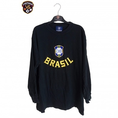 "Retro Brazil Goalkeeper Shirt 1960's (XL) "" Good"""