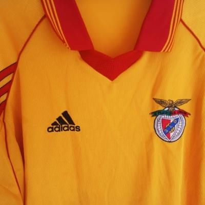 "SL Benfica Away Shirt 1998-1999 (XL) ""Average"""