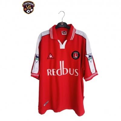 "Signed Charlton Athletic FC Home Shirt 2000-2002 #8 Kinsella (L) ""Perfect"""