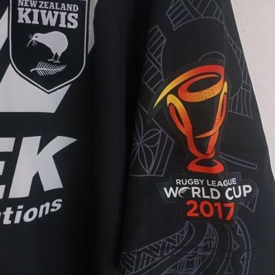 "New Zealand Kiwis Rugby League Shirt 2017 (XXL) ""Perfect"""