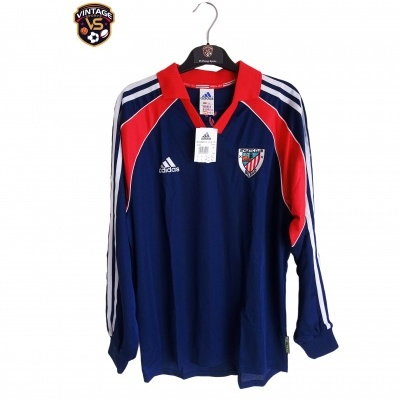 NEW Athletic Bilbao Player Issue Away Shirt 1999-2000 (S)