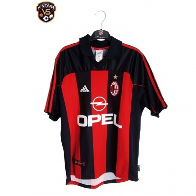 "AC Milan Home Shirt 2000-2002 (M) ""Very Good"""