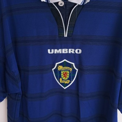 "Scotland Home Shirt 1998-2000 (XL) ""Good"""