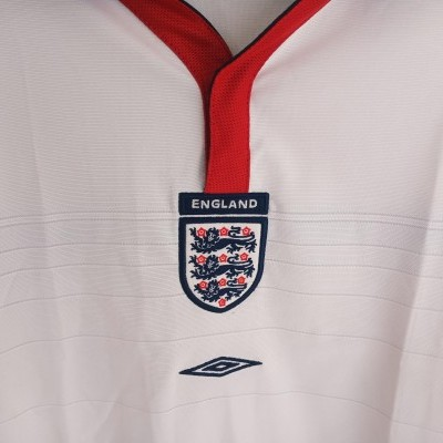 NEW England Reversible Home Shirt 2003-2005 (XL Boys)