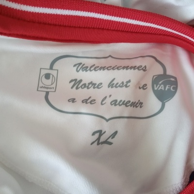 "Valenciennes FC Home Shirt 2014-2015 (XL) ""Very Good"""