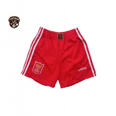"""Liverpool FC Home Shorts 1995-1996 (S) """"Very Good"""""""