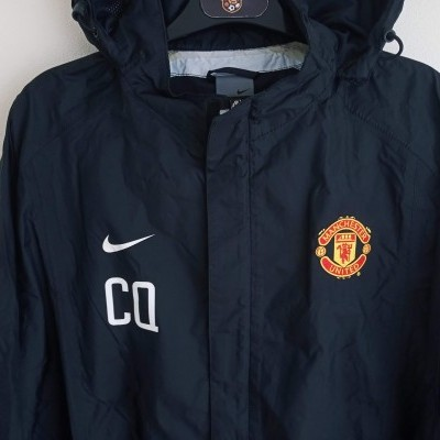 "Manchester United Issue Rain Jacket 2002-2003 (L) ""Very Good"""