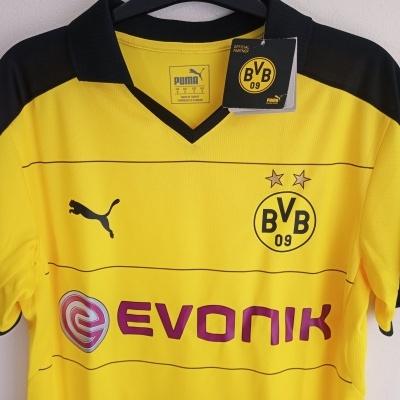 NEW BVB Borussia Dortmund Home Shirt 2015-2016 (S)