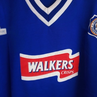 """Leicester City FC Home Shirt 1996-1997 (L) """"Very Good"""""""