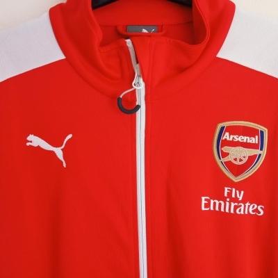 "Arsenal FC Anthem Jacket 2014-2015 (M) ""Perfect"""