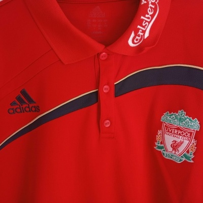 "Liverpool FC Polo Shirt 2009-2010 (L) ""Good"""