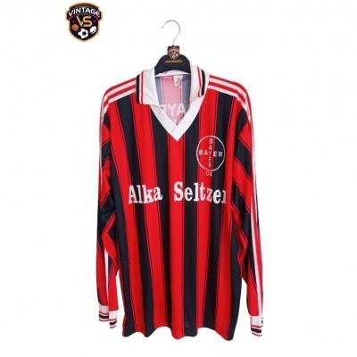 """FAN Bayer 04 Leverkusen Home Shirt L/S 1995-1996 (XL) """"Very Good"""""""