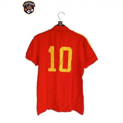 """Retro Spain Home Shirt 1982 #10 (S) """"Very Good"""""""