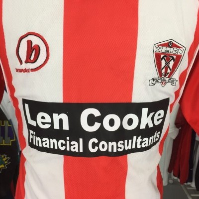 Witton Albion FC Home Shirt 2004 (XL)
