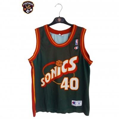 """Seattle Sonics NBA Jersey #40 Shawn Kemp (M) """"Good"""""""