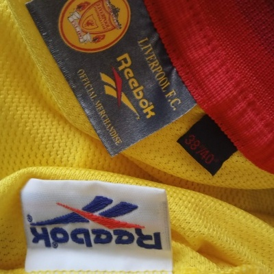 "Liverpool FC Away Shirt 1997-1999 (M) ""Very Good"""