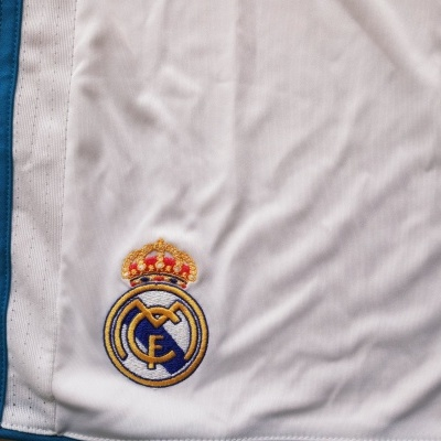 NEW Real Madrid Home Shorts 2017-2018 (XL)