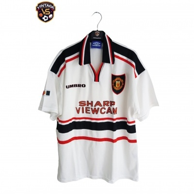 "Manchester United Away Shirt 1997-1999 (L) ""Very Good"""