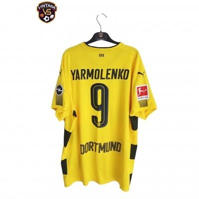 "Borussia Dortmund Home Shirt 2017-2018 #9 Yarmolenko (XXL) ""Very Good"""