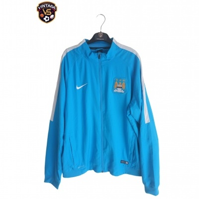 "Manchester City Woven Jacket 2014-2015 (XL) ""Very Good"""