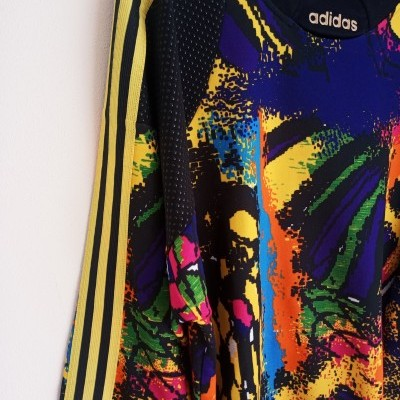 "Vintage Goalkeeper Shirt Adidas 1990's (XL) ""Very Good"""
