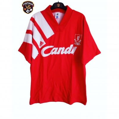 "Liverpool FC Home Shirt 1991-1992 (M) ""Very Good"""