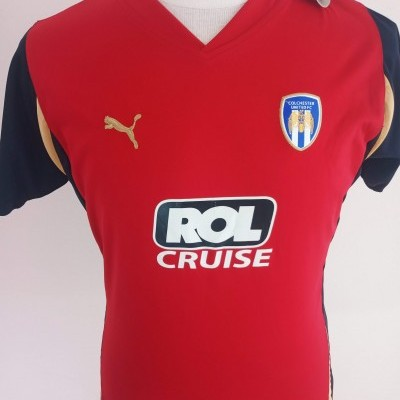 Colchester United Away Shirt 2010-2011 (Womens)