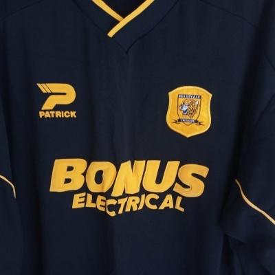 """Hull City FC Away Shirt 2003-2004 (XXL) """"Very Good"""""""