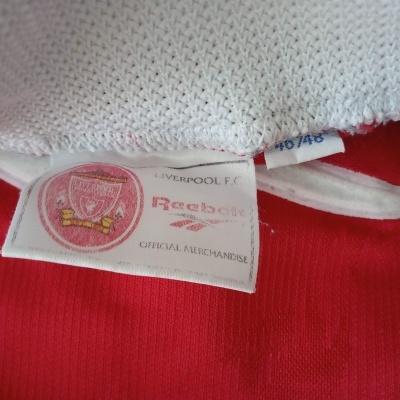 "Liverpool FC Home Shirt 1996-1998 (XL) ""Very Good"""