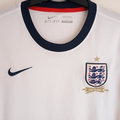 "England Home Shirt 2012-2014 (L Womens) ""Very Good"""