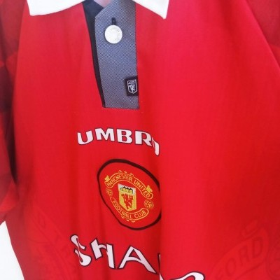 "Manchester United Home Shirt 1996-1997 (M) ""Good"""