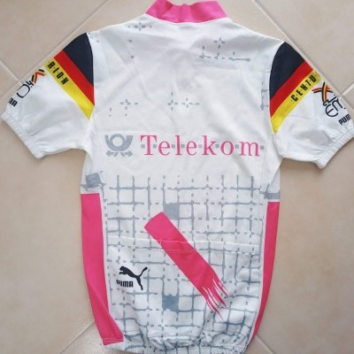 "Team Telekom Cycling Shirt 1980's (M) ""Very Good"""