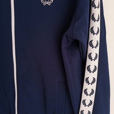 """Fred Perry Track Top Jacket Blue (M) """"Very Good"""""""