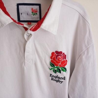 "England Rugby Long Sleeve Shirt Cotton #1 (XL) ""Good"""