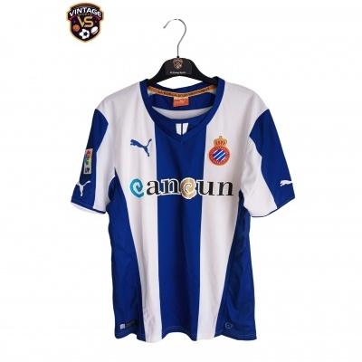 "RCD Espanyol Barcelona Home Shirt 2013-2014 (S) ""Perfect"""