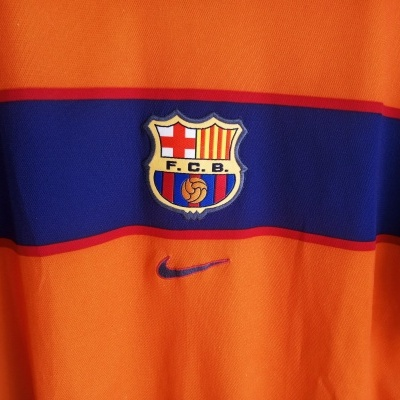 "FC Barcelona Away Shirt 1998-2000 (M) ""Good"""