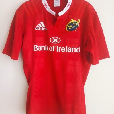 "Munster Rugby Home Shirt 2015-2016 (M) ""Very Good"""