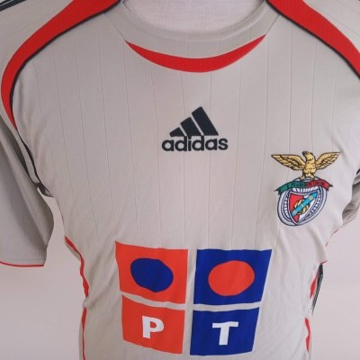 NEW SL Benfica Away Shirt 2006-2007 (XL Youths)