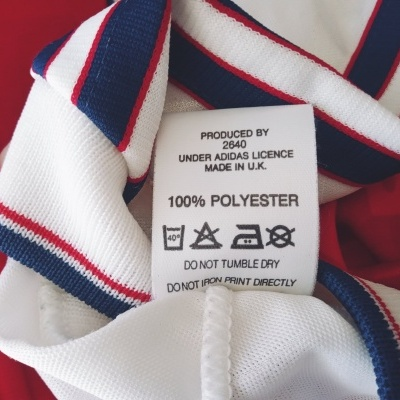 "Arsenal FC Home Shirt 1990-1992 (L) ""Very Good"""